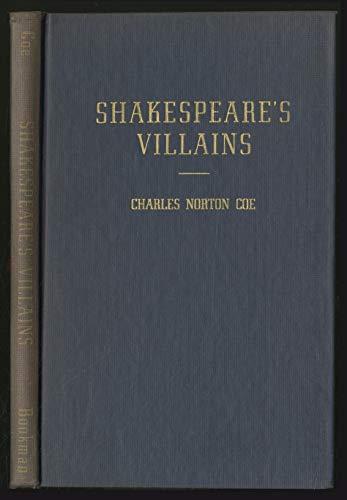 9780404015855: Shakespeare's Villains