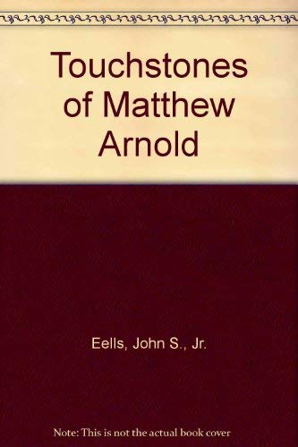 9780404022631: Touchstones of Matthew Arnold
