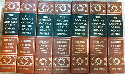 9780404028206: The Decline and Fall of the Roman Empire (7 book set)