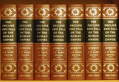 9780404028213: The History of the Decline and Fall of the Roman Empire (7 volumes)