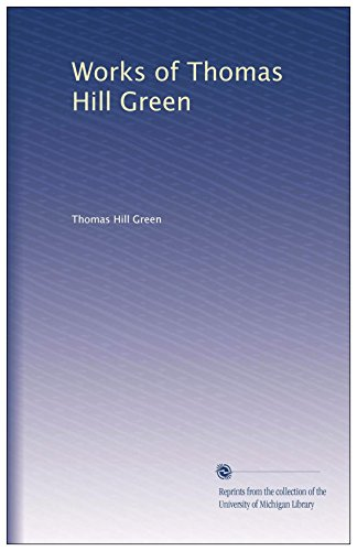 9780404029104: Works of Thomas Hill Green