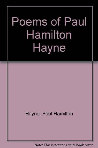 9780404031671: Poems of Paul Hamilton Hayne