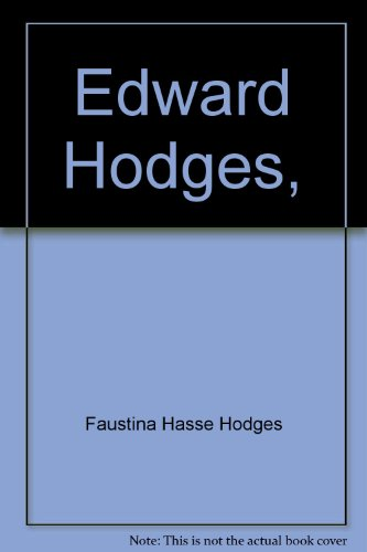 Edward Hodges,: Doctor in Music of Sydney Sussex College, Cambridge; organist of the Churches of St...