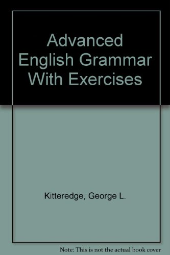 9780404037314: Advanced English Grammar With Exercises