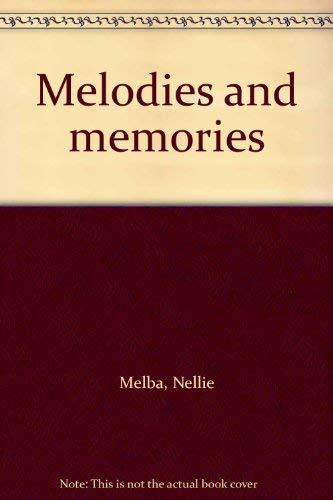 9780404042875: Melodies and memories