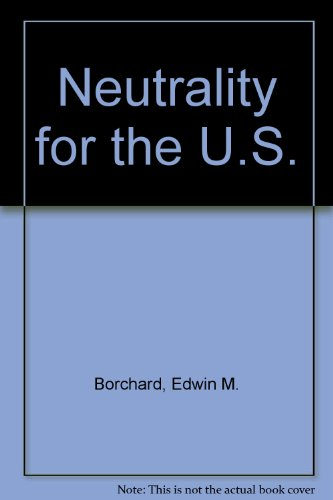 9780404046446: Neutrality for the U.S.