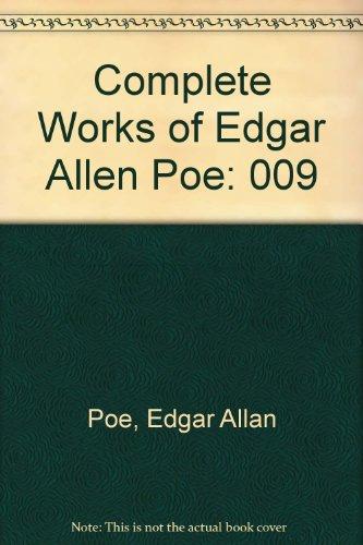 9780404051099: Complete Works of Edgar Allen Poe