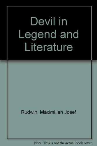 9780404054519: Devil in Legend and Literature