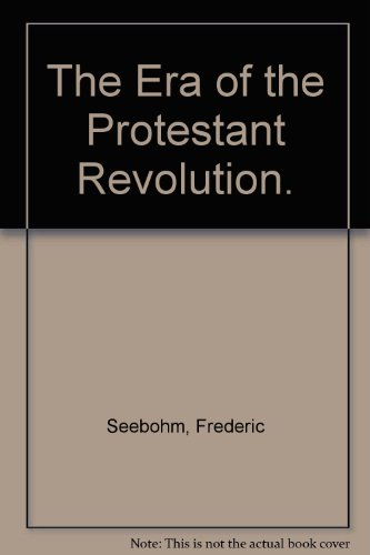 9780404056957: The Era of the Protestant Revolution.