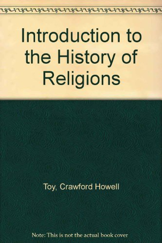 9780404064983: Introduction to the History of Religions