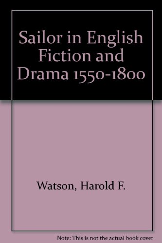 9780404068738: Sailor in English Fiction and Drama 1550-1800
