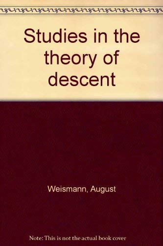9780404081928: Studies in the theory of descent