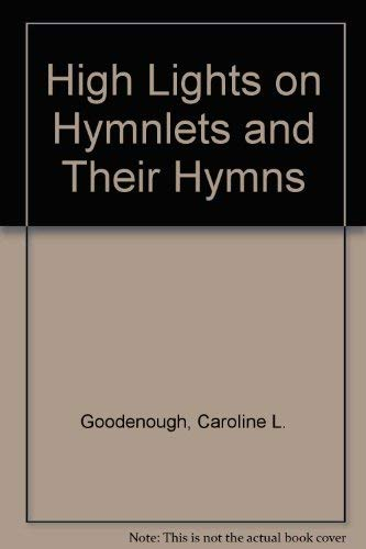 9780404083106: High Lights on Hymnlets and Their Hymns