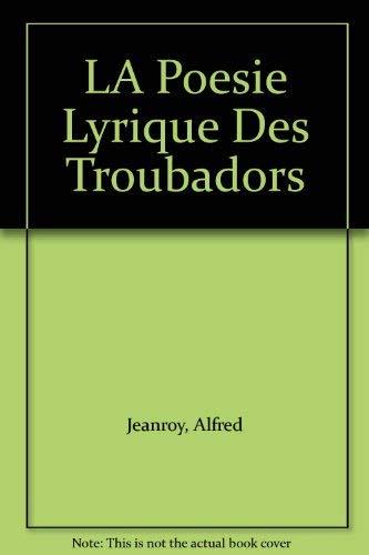 Literatuurwetenschap; Alfred Jeanroy - Les origines de la ...