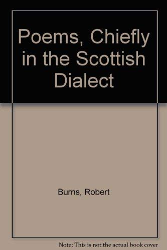 9780404089771: Poems, Chiefly in the Scottish Dialect