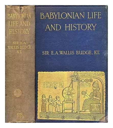 9780404113087: Babylonian Life and History