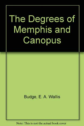The Decrees of Memphis and Canopus (3 Volume Set)