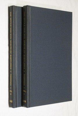 """The Devils and Evil Spirits of Babylonia (Complete 2 Volume Set--i.e., Vol. I: """"Evil Spirits&..."""