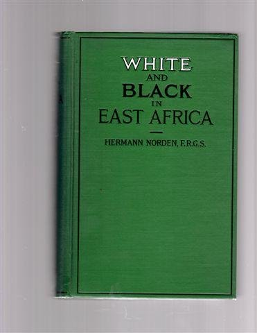 9780404121242: White and Black in East Africa