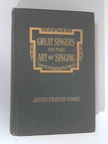9780404128869: Great Singers on the Art of Singing