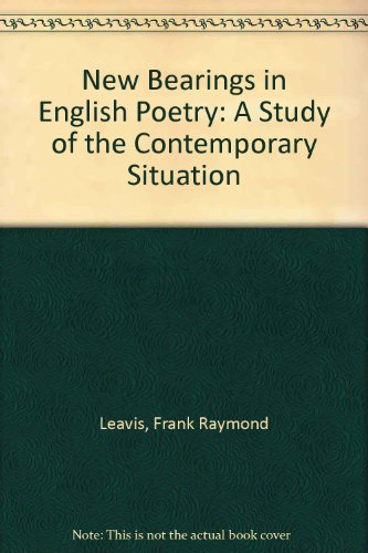9780404140359: New Bearings in English Poetry: A Study of the Contemporary Situation