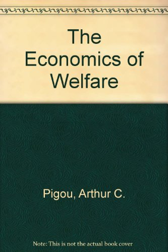 9780404145835: The Economics of Welfare