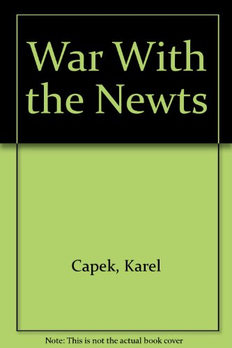 9780404146498: War With the Newts (English and Czech Edition)