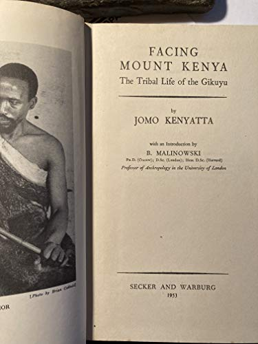 9780404146764: Facing Mount Kenya: The Tribal Life of the Gikuyu