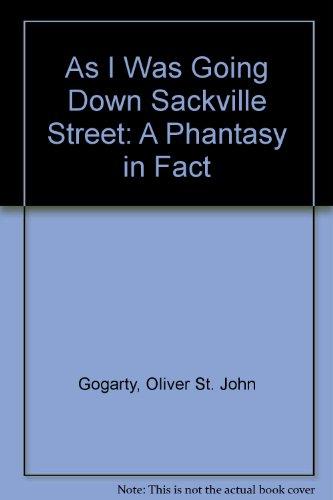9780404147150: As I Was Going Down Sackville Street: A Phantasy in Fact