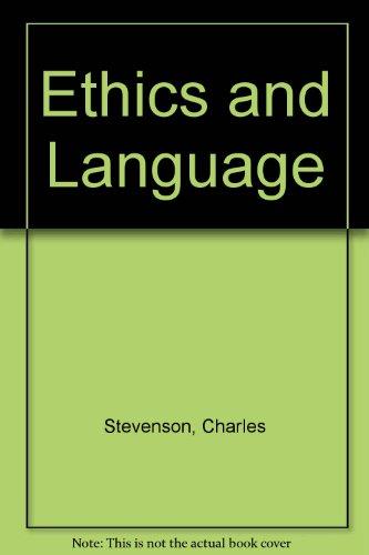 9780404148065: Ethics and Language