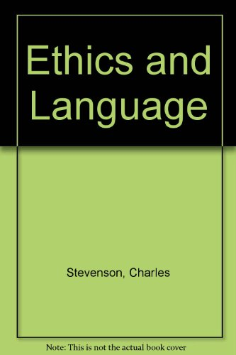 9780404148065: Ethics and Language