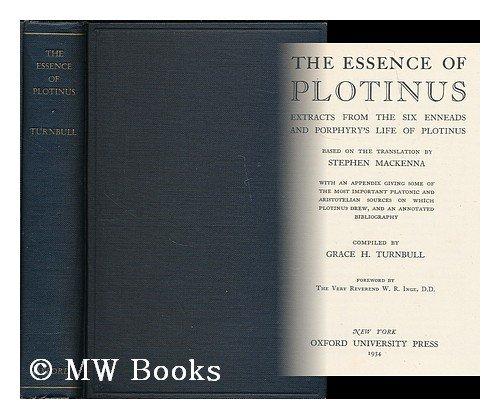 9780404153533: Essence of Plotinus