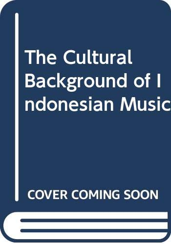 9780404167530: The Cultural Background of Indonesian Music
