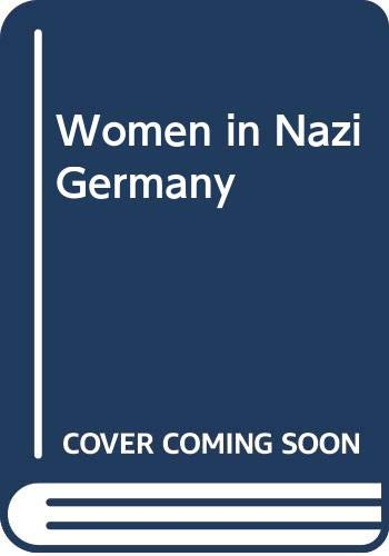 9780404169985: Women in Nazi Germany