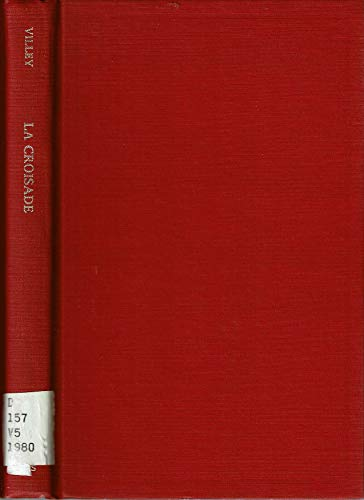 9780404170462: La croisade: Essai sur la formation d'une theorie juridique (French Edition)