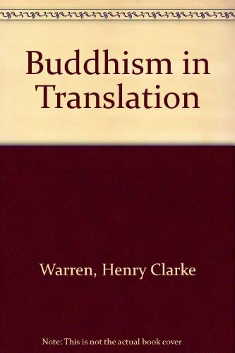 9780404174088: Buddhism in Translation