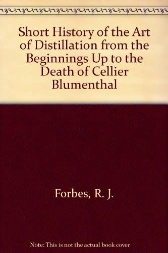 9780404184704: Short History of the Art of Distillation from the Beginnings Up to the Death of Cellier Blumenthal