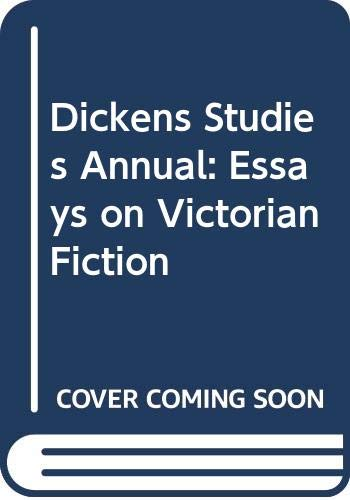 9780404185312: Dickens Studies Annual: Essays on Victorian Fiction, Vol. 11