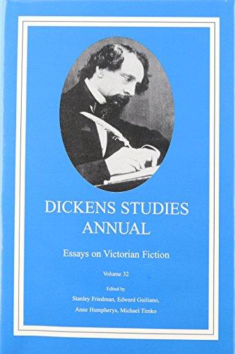 9780404189327: Dickens Studies Annual Volume 32: Essays on Victorian Fiction (Dickens Studies Annual)