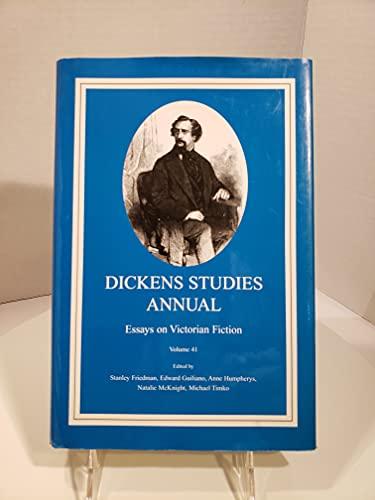 Dickens Studies Annual: v. 41: Essays on Victorian Fiction (Hardback)