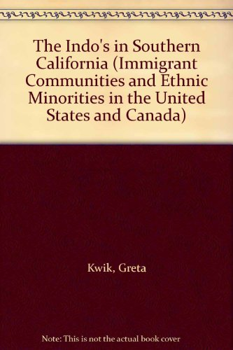 9780404194727: The Indo's in Southern California (IMMIGRANT COMMUNITIES AND ETHNIC MINORITIES IN THE UNITED STATES AND CANADA)