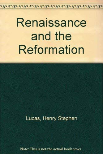 9780404198152: Renaissance and the Reformation