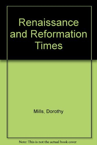 9780404198176: Renaissance and Reformation Times