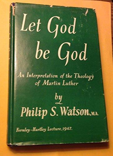 9780404198640: Let God Be God