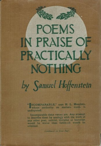 9780404199340: Poems in Praise of Practically Nothing (Classics of Modern American Humor)