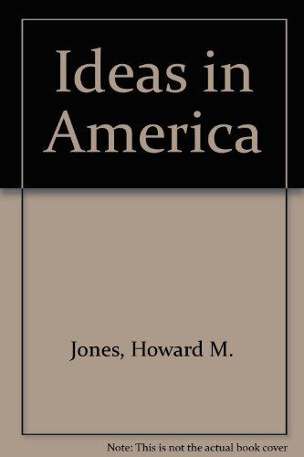 9780404201449: Ideas in America