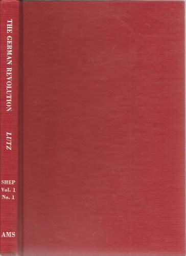 9780404509613: The German Revolution, 1918-1919