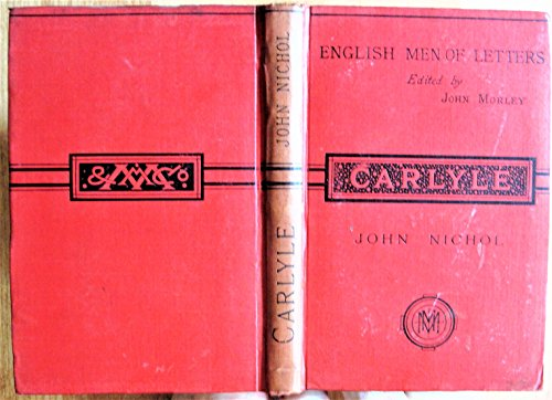9780404517236: Thomas Carlyle (English Men of Letters)