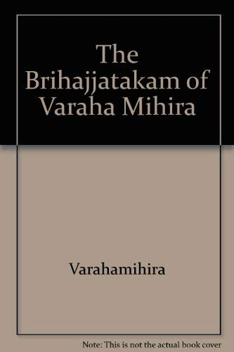 9780404578121: The Br̥ihajjâtakam of Varâha Mihira