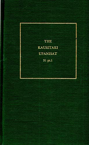 The Kausitaki Upanisat: AMS Press